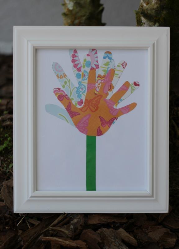 Handprint Collage Mother S Day Gift Inner Child Giving